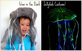 How to make a Glow int he dark Jellyfish costume!