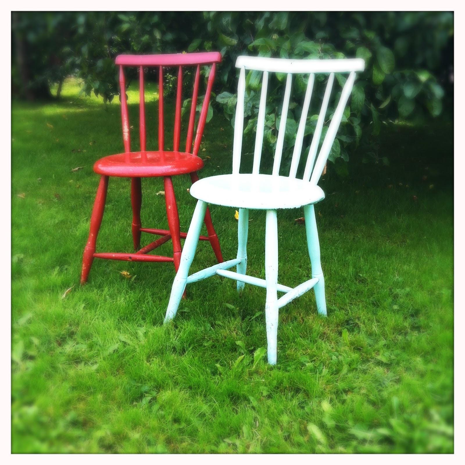 Hullaannu ja hurmaannu Kauniit vanhat tuolit