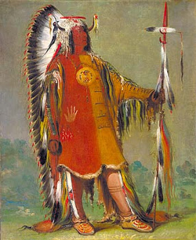 Four Bears, the War Chief of the Mandan