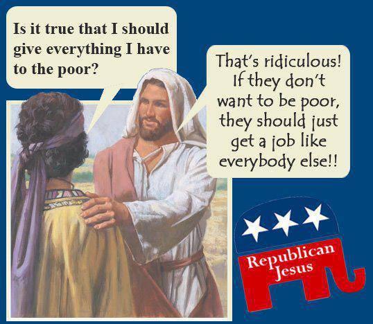 Republican Jesus 1 (Socialism)