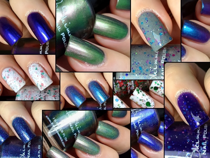 Nail Polish Wars: KBShimmer Winter 2013 Collection Swatch & Review