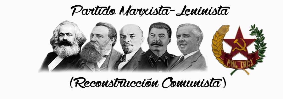 Partido Marxista Leninista (Reconstrucción Comunista)