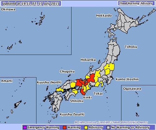nangka weather warnings
