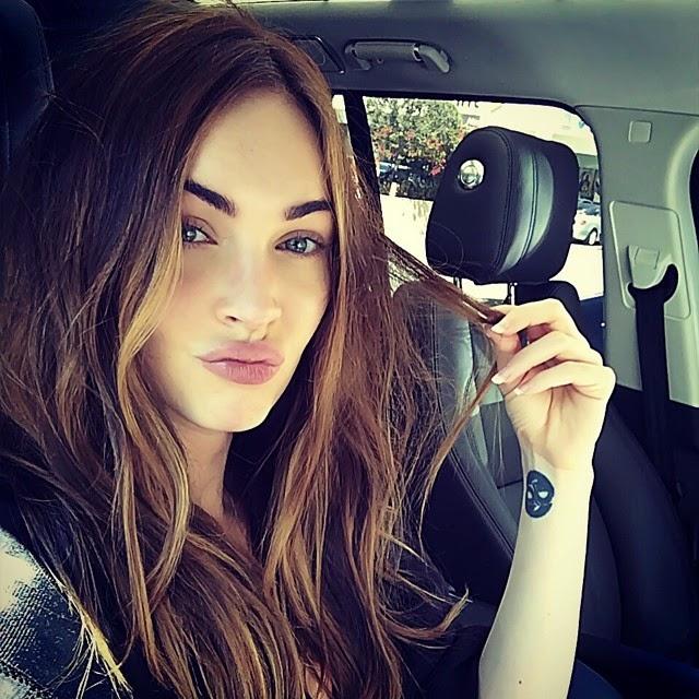 Megan Fox nos manda un beso
