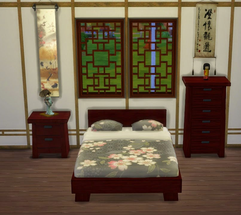 Modern Asian Bedroom Set By Lexiconluthor