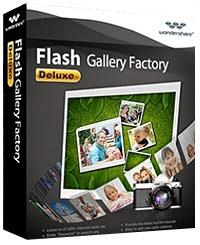 Wondershare Flash Gallery Factory Deluxe 5.2.1 Full