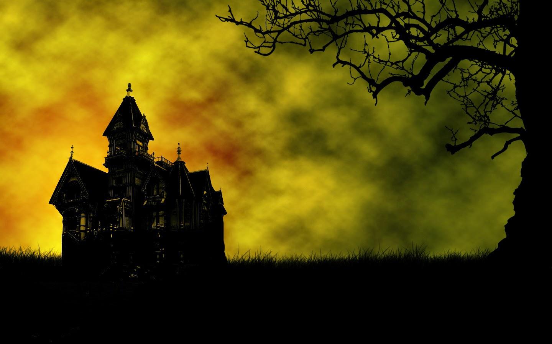 com wallpapers halloween house windows - photo #14