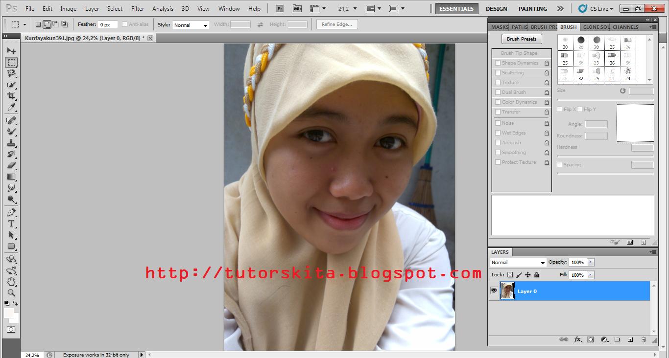 Memberi Efek Burn dan Dodge pada Foto secara Praktis dengan Adobe Photoshop
