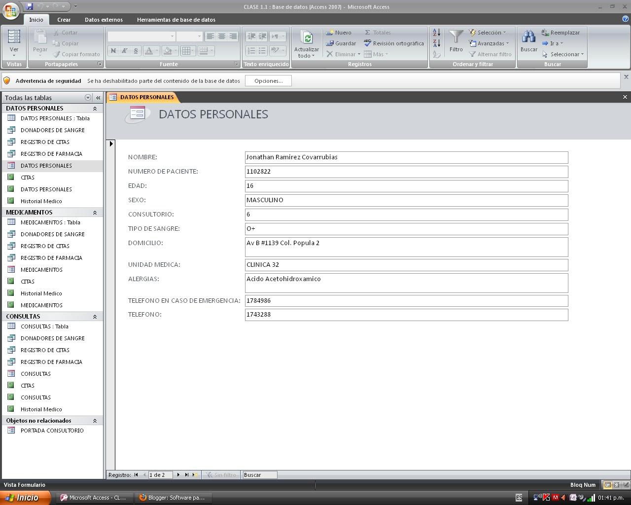 Software para oficinas capacitacion iii r 3 5 formularios for Software diseno oficinas