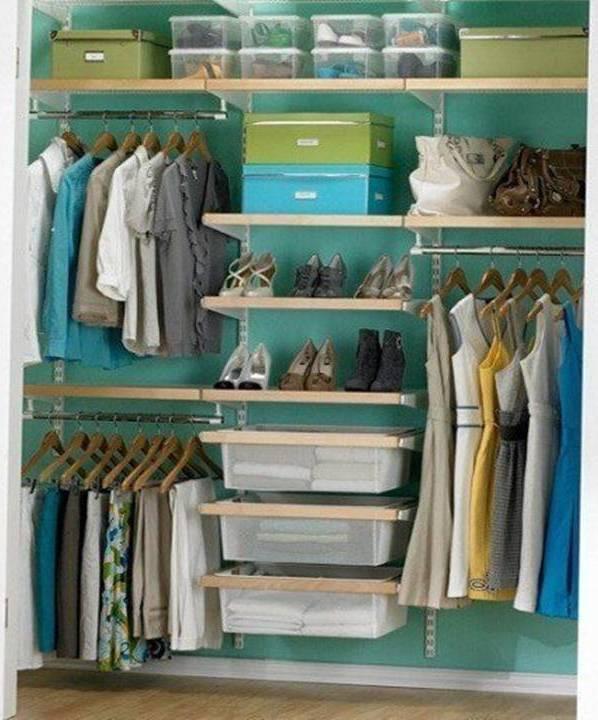 Brilliant closet storage and organize ideas decor units - Brilliant wardrobe designs ...