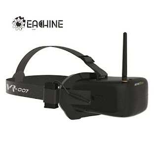 Eachine VR-007 FPV Cheap Racer Drone Goggles