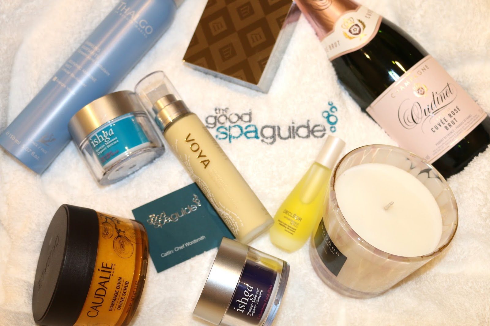 The Good Spa Guide, Hamper of Spa Products!