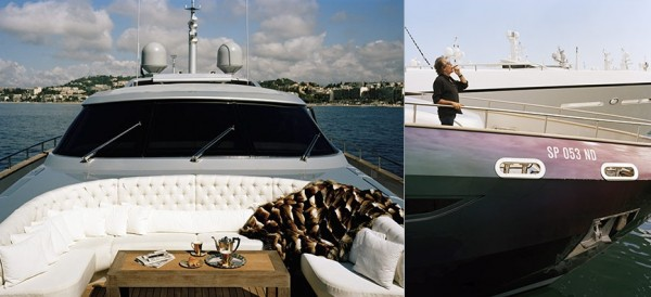 Celebrity Home Photographs by Douglas Friedman: Roberto Cavalli Yatch 2