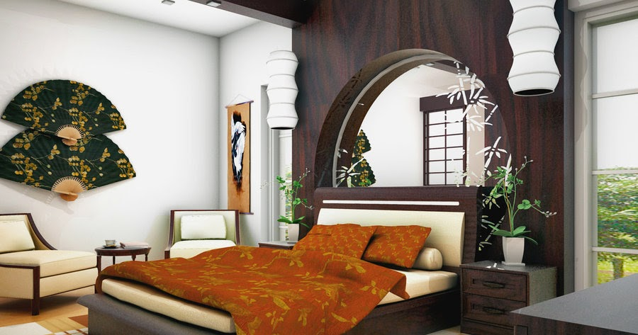 decoration maison style asiatique id es d co pour maison moderne. Black Bedroom Furniture Sets. Home Design Ideas