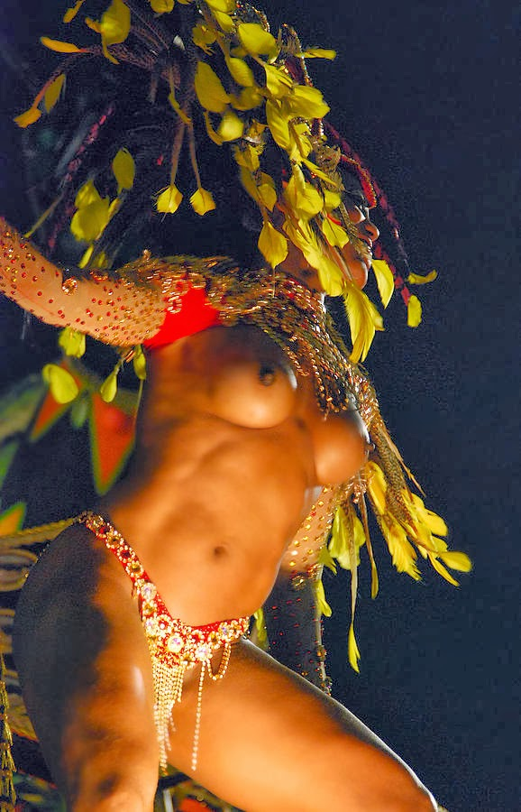 Brazilian Carnival Muse Barenaked