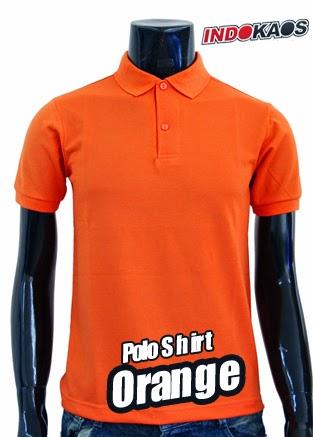 Polo Shirt Polos Orange