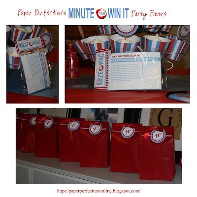 image regarding Minute to Win It Blueprints Printable identify Paper Perfection: Moment In the direction of Get It Bash Decorations, Favors