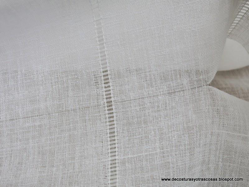 De costuras y otras cosas confeccionando cortinas 1 parte - Como hacer visillos ...