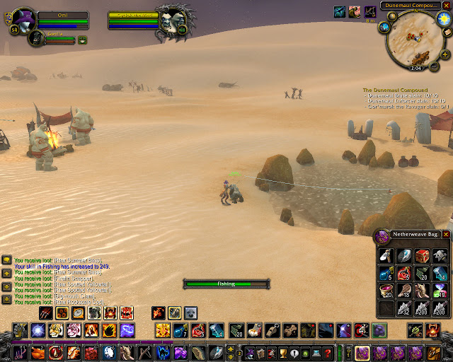 World of Warcraft - Fishing in the Desert Description