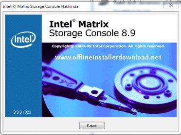 Intel's matrix storage manager drivers for windows download