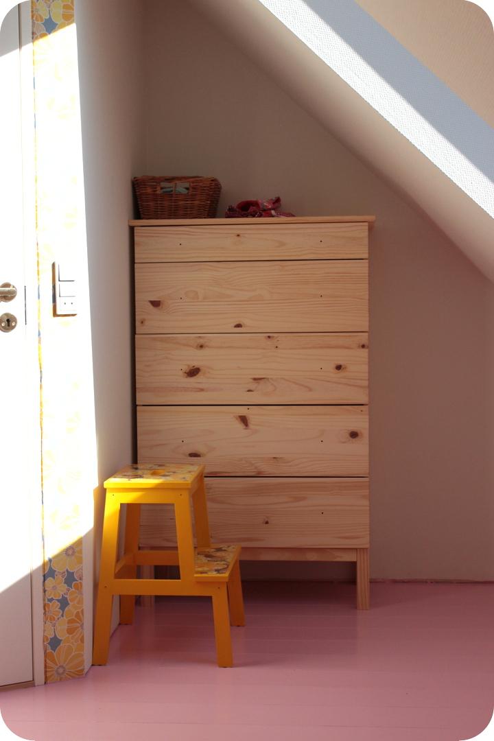 Laralil: laras nye værelse