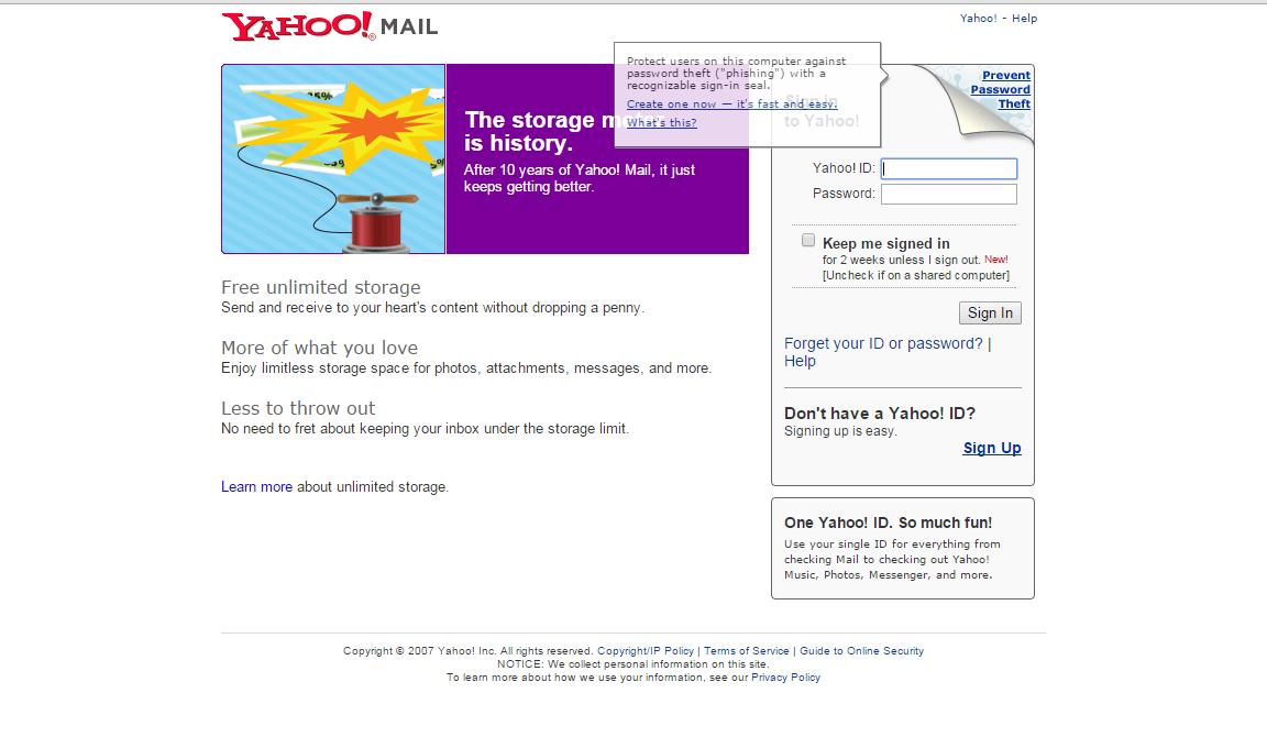 Share code phishing yahoo | Free share all