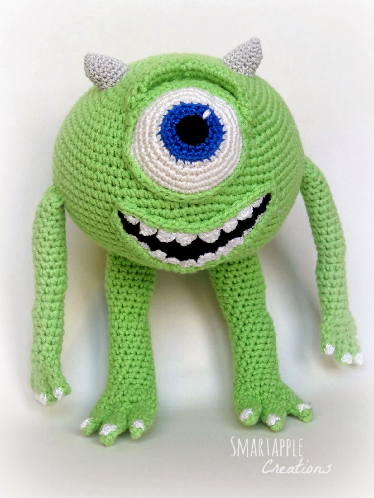 Amigurumi Monsters Inc : Smartapple Creations - amigurumi and crochet: Amigurumi ...