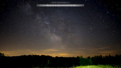 A Photo of the Galactic Center of the Milky Way captured in the darkness of the New Moon on June 16, 2015 by Chris Gardiner Photography