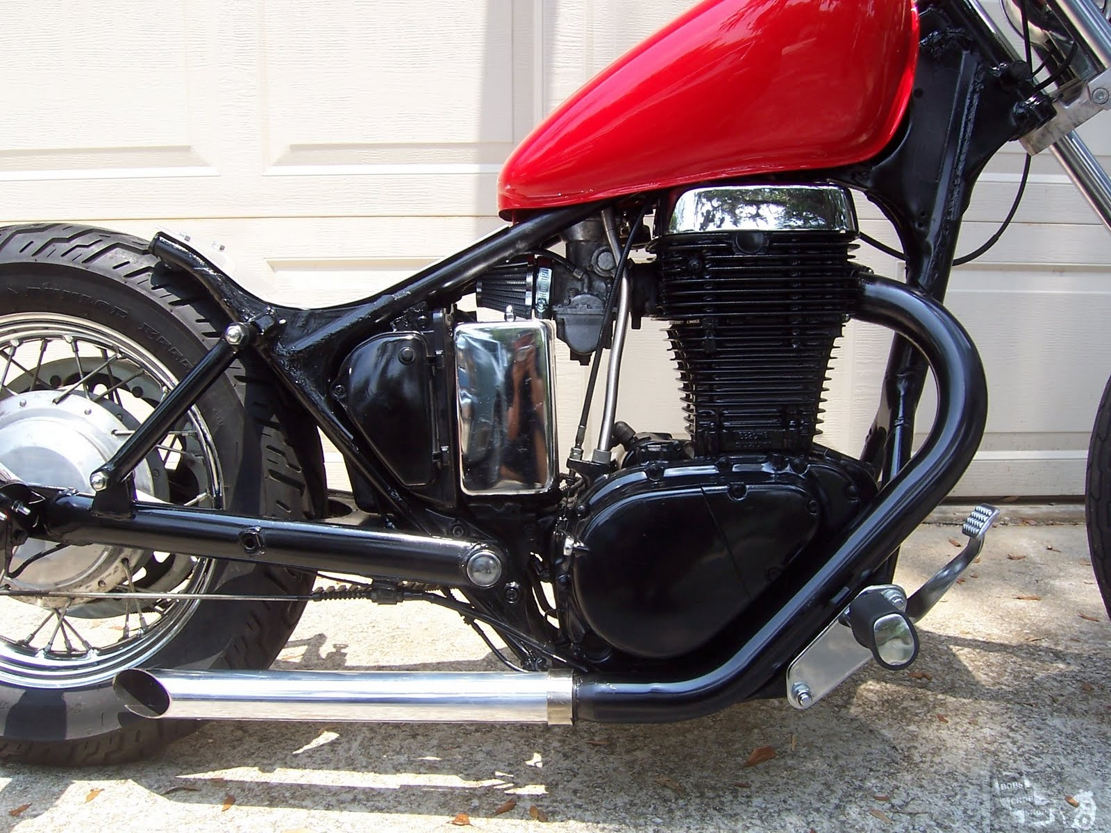 Cafe Racer Special  Suzuki Savage ls650 Bobber