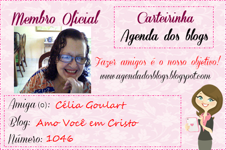 CARTEIRINHA AGENDA DOS BLOGS