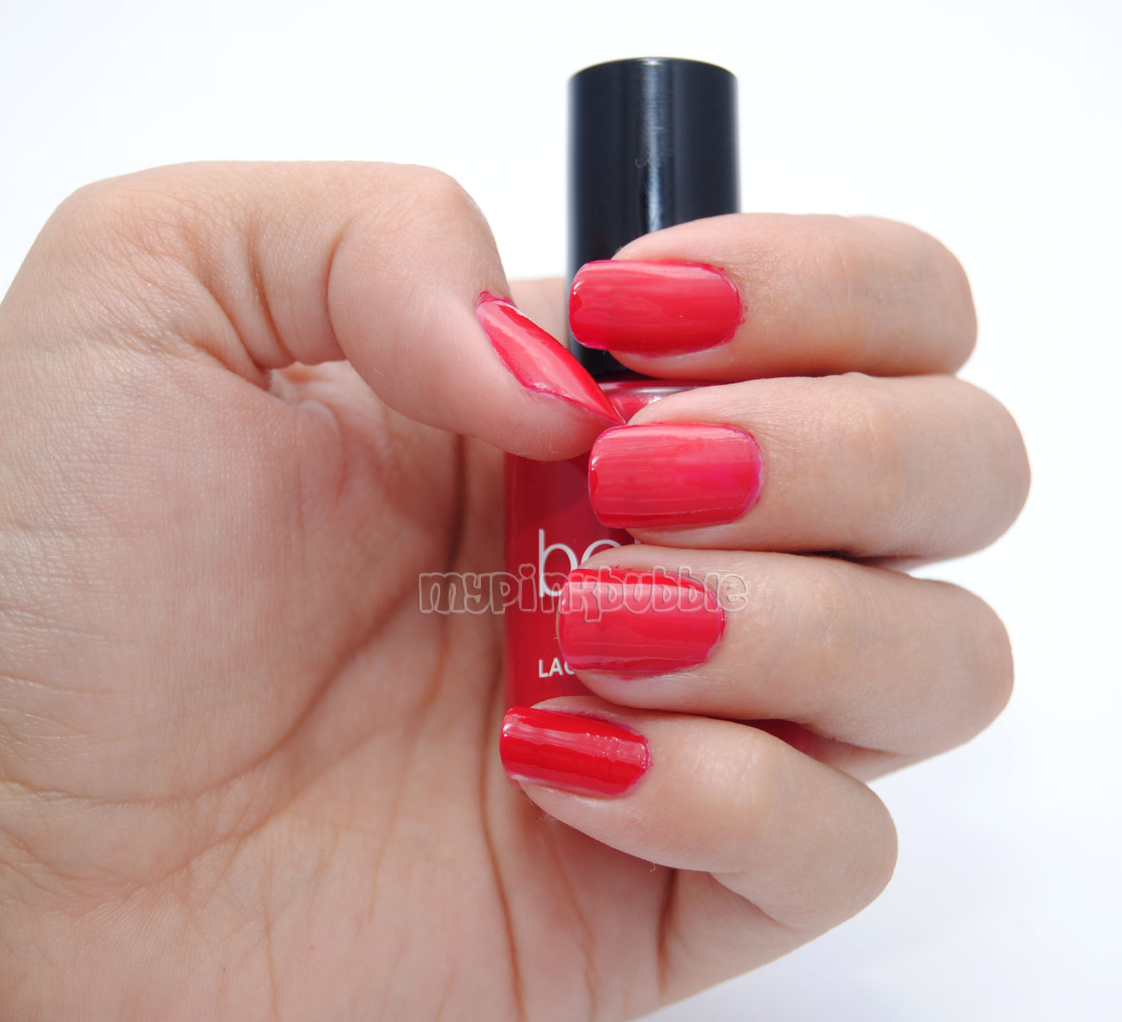 Belle 02 Red Love swatch