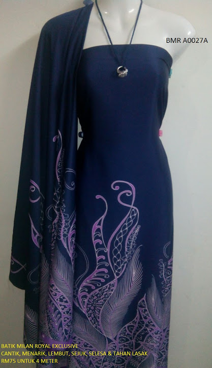 BMR A 0027A:  BATIK MILAN ROYAL EXCLUSIVE