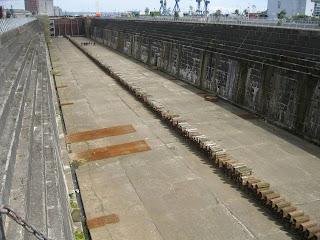 Titanic's Dry Dock, Olympics Dry Dock, Belfast, 2012