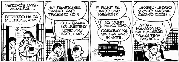"Pugad Baboy the Comic Strip: ""Ambrosia Adventure Continues"""
