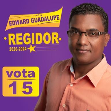 Edwar Guadalupes Regidor vota 15
