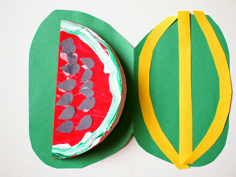 make watermelon envelope