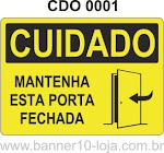 placas de avisos