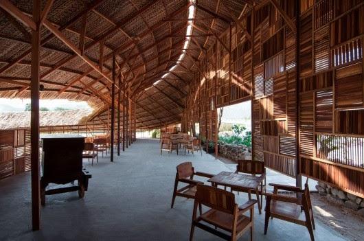 Salvaged Ring tạiNha Trang, Việt Nam - A21studio thiết kế (lọt vào danh sách các Dự án nhỏ).