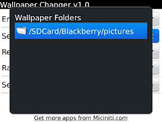 Wallpaper Changer for BlackBerry