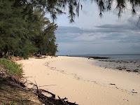 Mirage Island Resort beach, Pulau Besar