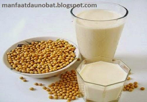khasiat susu kedelai