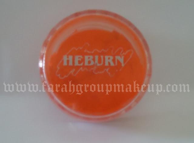 pigmentos, maquillaje, naranja