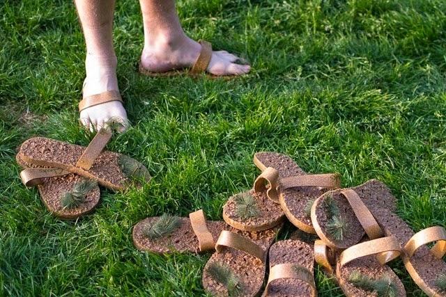 Sandalias de Corcho, Antideslizantes y Ecoresponsables