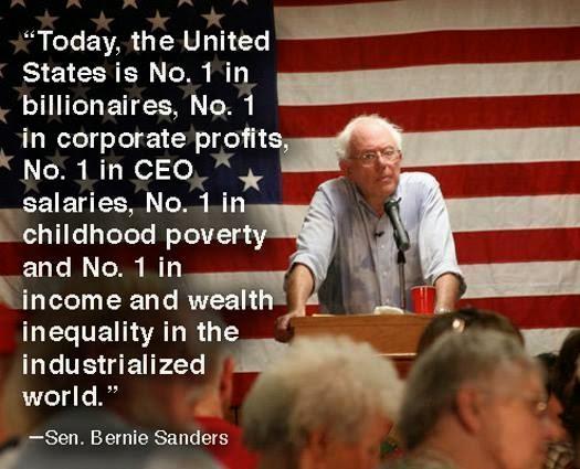 Bernie Sanders is right