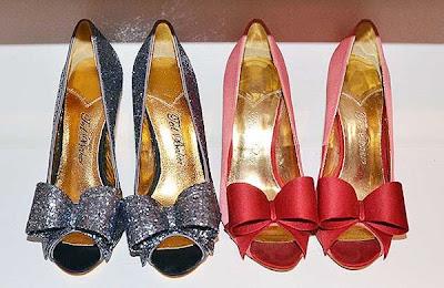 Ribbon bridal shoes Ted Baker
