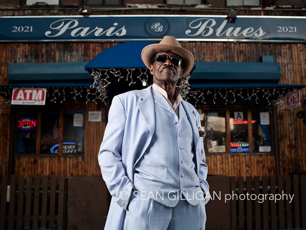 MG 1890 layers Mr. Blues! Samuel Hargress Jr. is the owner of Paris Blues bar in Harlem, New York.
