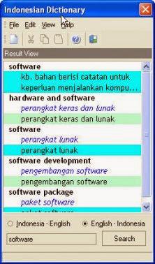 Download Kamus Bahasa Inggris-Indonesia Lengkap Untuk PC