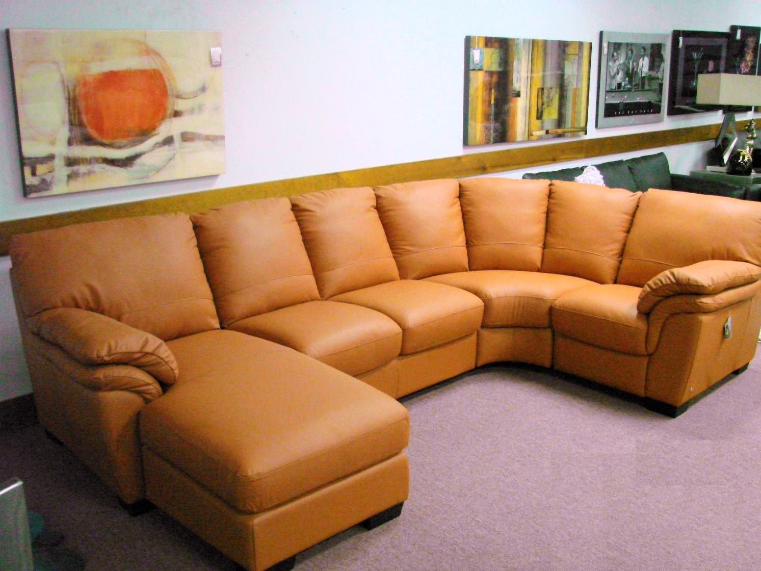 italsofa red leather sectional i130 25 off msrp sale