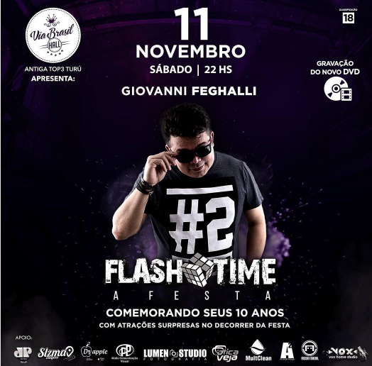 FLASH TIME, A FESTA!