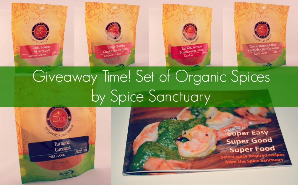 Spice Sanctuary - Organic Spices and Herbs giveaway contest